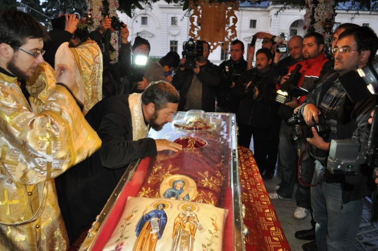Programul hramului Sfintei Cuvioase Parascheva (Iași – 11-14 octombrie 2018)