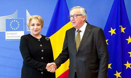 Premierul Viorica Dăncilă a ratat întâmpinarea președinteului Comisiei Europene, Jean Claude Juncker, la aeroportul Băneasa.