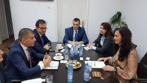 Ministrul Intotero Natalia Elena l-a invitat pe omologul său macedonean la reuniunea la nivel ministerial în domeniul politicilor pe pe care MRP îl va organiza la București în martie 2019, în marja deținerii de către România a Președinției Consiliul Uniunii Europene.