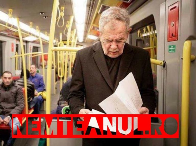 Președintele Austriei cu METROUL | Postură de simplu călător |