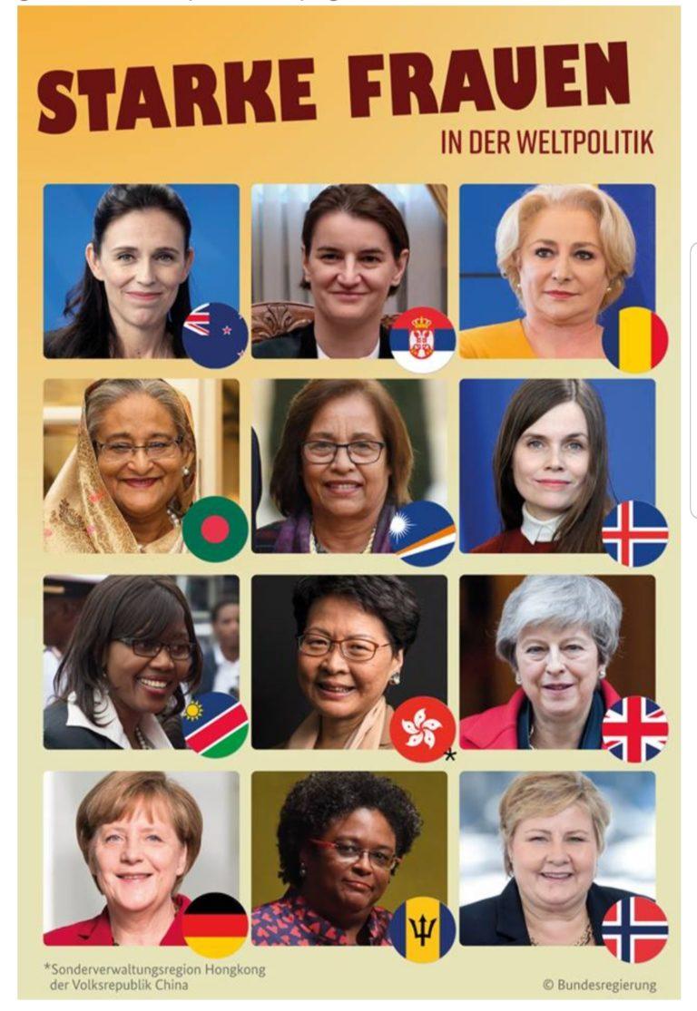GERMANIA: Viorica Dăncilă TOP 12 dintre cele mai puternice femei din lume .