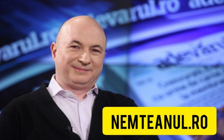 Codrin Stefanescu: Nu sunt nici vreun ciudat, nici un singuratic, dar am impresia că văd lucrurile mai bine de la distanţă.