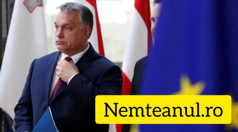 """VIKTOR ORBAN : """" UE Finanțează atacaurile împotriva guvernului din România """""""