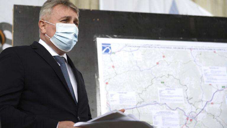 Ministrul Bode, explicații despre accident: Nu aveam motiv să ne grăbim. Șoferul SPP e responsabil de traseu și ducerea la destinație